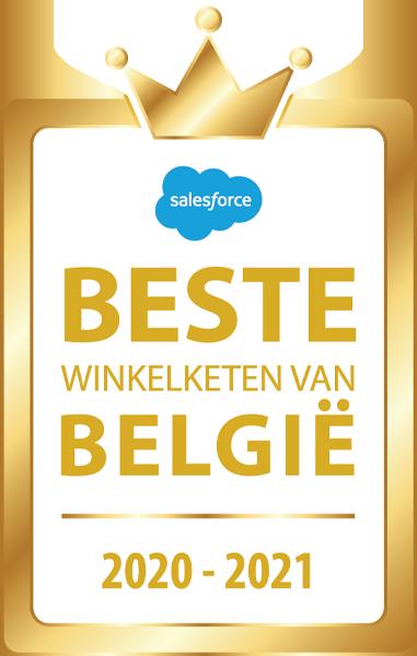 Beste winkelketen 2020-2021 Belgie
